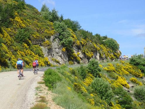 """Sur les traces de la course cycliste de ' L'Ardéchoise"""""""