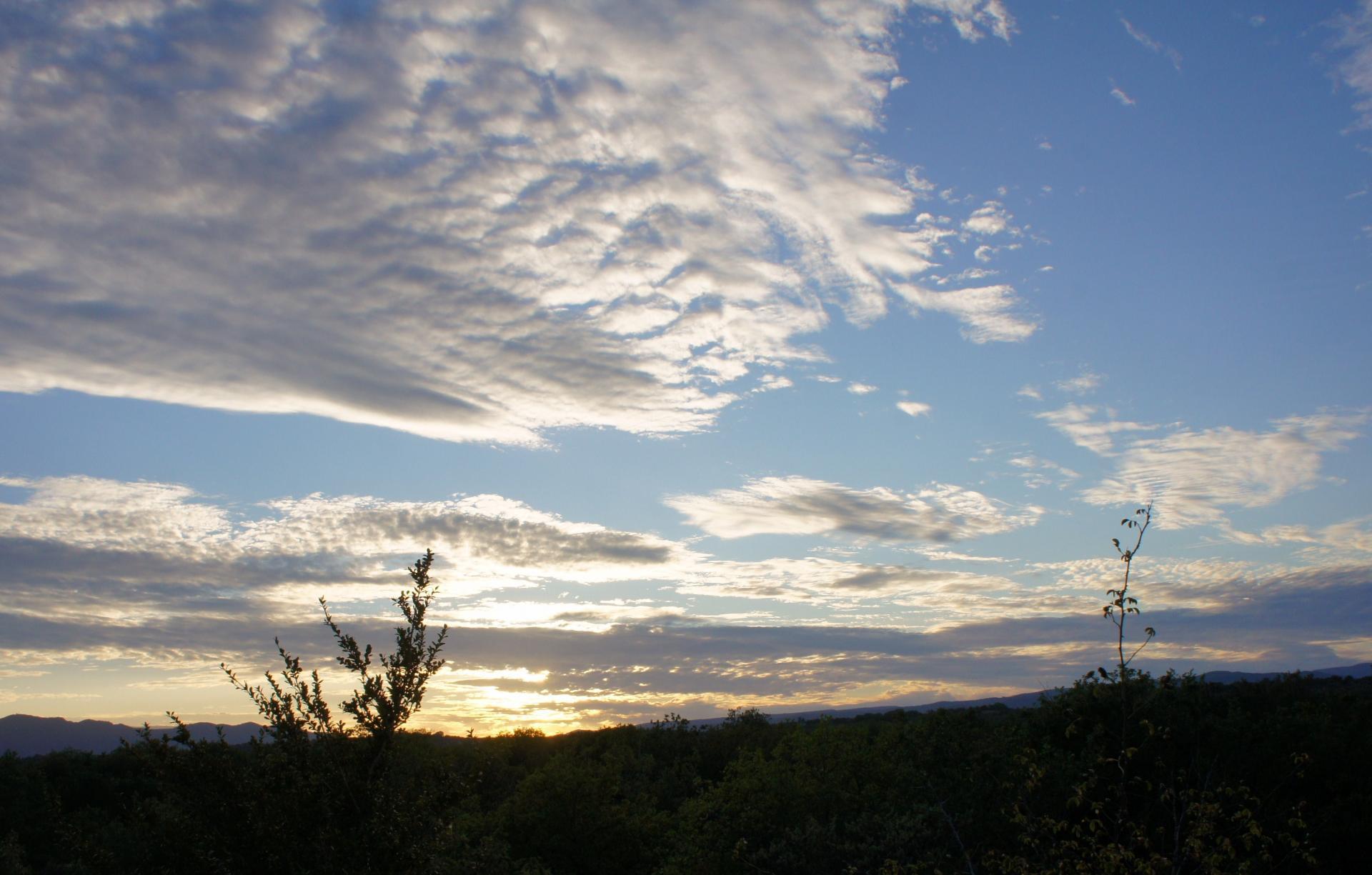 Magie du ciel sur Chandolas