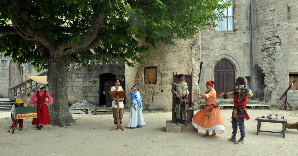 Spectacle Médiéval à Largentière